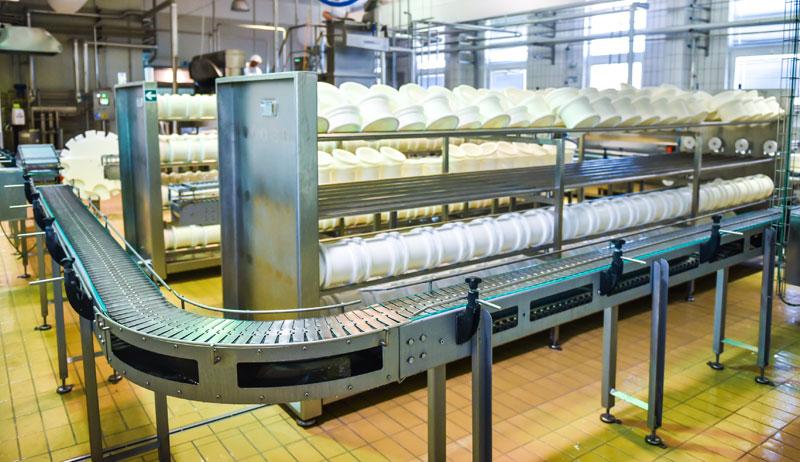 Friesen Nutrition cheese factory